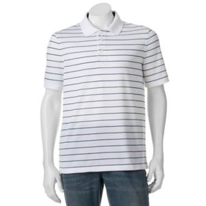 Men's Croft & Barrow® Cool & Dry Classic-Fit Striped Performance Polo